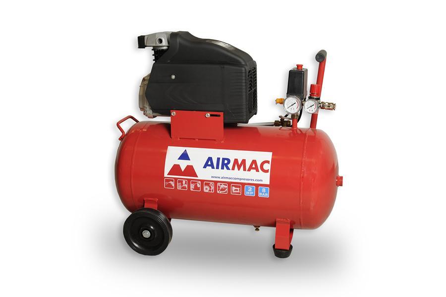 Airmac compresores aire comprimido de pist n monoblock y - Compresores aire comprimido ...